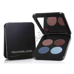 Youngblood Glamour Eyes - Mavi Ve Kahve Tonlarda 4 'lü Far (10061)