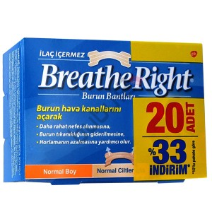 Breathe Right Burun Bandı Normal Boy