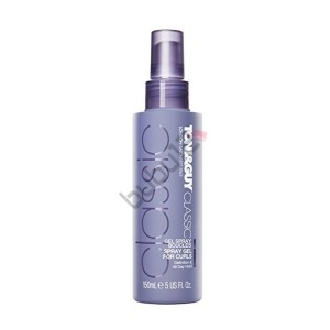 Toni Guy Classic Spray Gel For Curls - Bukle Belirginleştirici Sprey 150ml