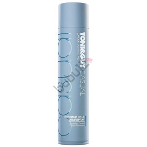 Toni Guy Casual Flexible Hold Hairspray Esnek Tutuşlu Saç Spreyi 250ml